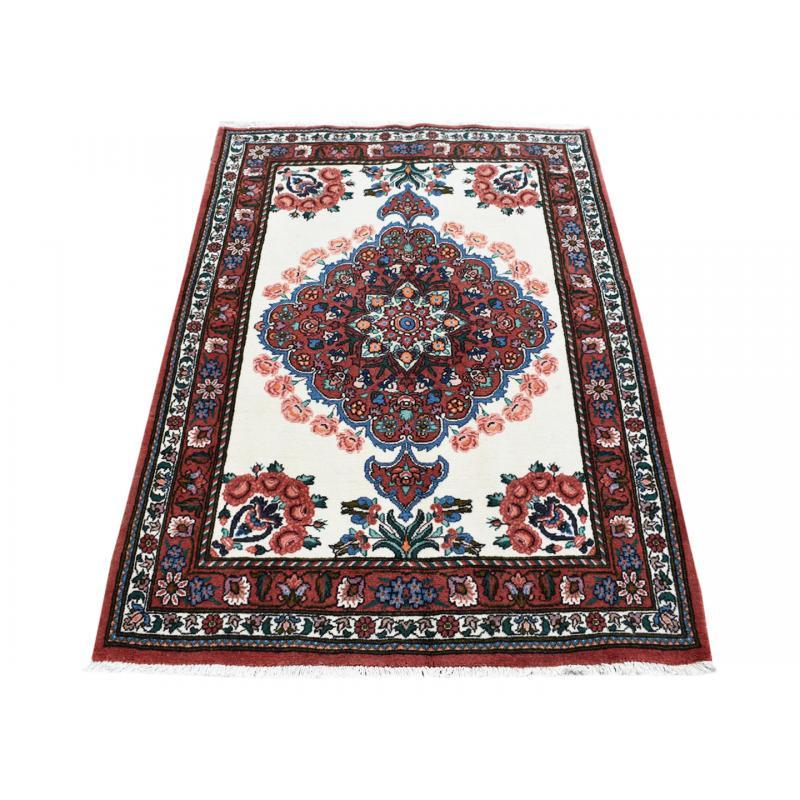 100 Wool Persian Area Rug: 100 X 165 Unique Bakhtiari Handmade Persian Traditional