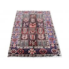 100 X 142 Classy Multi Color Persian Traditional Handmade Wool Rug