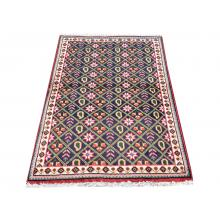 95 X 142 Classic and Timeless Diamond Persian Traditional Wool Rug