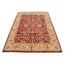 274 X 366 Wool, Traditional Oriental, All Over Design, Afghan Choobi Dyed Rug