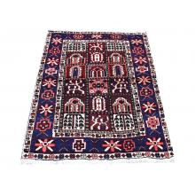 103 X 137 Bold & Elegant Multi Color Persian Traditional Handmade Wool Rug