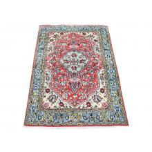 107 X 149 Royal Timeless Antique Persian Centre Medallion Designed Pure Wool Rug