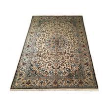 282 x 305 Royal Persian Wool Silk Handmade Naien Rug