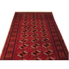 107 x 226 Majestic Traditional Persian Turkman Antique Rug