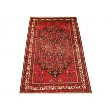160 x 284 Deep Red Tribal Wool Rug