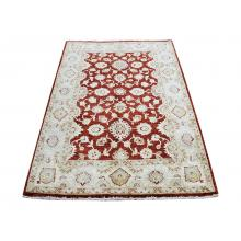 143 X 207 Unique Eslimi Design Oriental Traditional Red, Gold Wool Rug