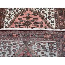 95 X 149 Luxurious Persian Traditional Medallion Heriz Handmade Wool Rug