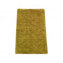 61 x 91 Modern Fields Hexigonal Pattern Pure Wool Rug