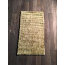 Simple & Elegant Olive handmade Rug