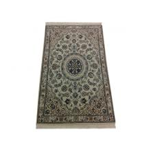 91x 140 Elegant Naien Khorshidi Medallion Design H& Tufted Rug