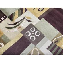 122 X 183 Strikingly Beautiful Oriental Modern Taj Mahal Wool Silk Rug