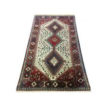 103 x 233 Royal Persian Handmade Wool Yallameh Shiraz Rug