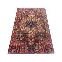 132 x 221 Persian Medallion Handmade Wool Rug