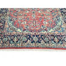 274 x 386 Persian Esfahan Handmade Wool Rug