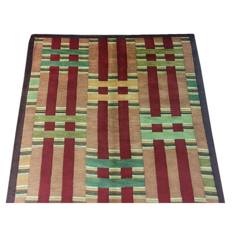 152 X 244 Classic Indo Nepal Oriental Modern Handmade Rug
