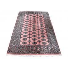 128 X 192 Majestic Traditional Handmade Bokhara Wool Rug