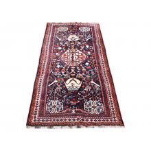 116 x 229 Majestic Antique Persian Tribal Centre Medallion Design Rug