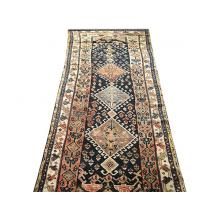 107 x 277 Royal Timeless Antique Persian Caucasian Tribal Pure Wool Rug
