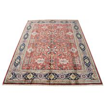277 x 361 Wool Multi Color, Persian Traditional, Jaipur Turkish Knot, Serapi Design Rug
