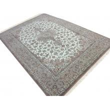 203 x 312 Classic Esfahan Silk Based Rug