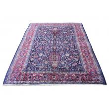 274 X 335 All Over Persian Mashhad Handmade Wool Rug