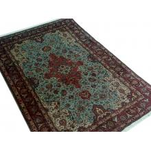 196 x 300 Semi-antique Handmade Persian Tabriz Wool Rug