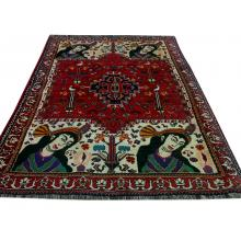 196 x 244 Royal Persian Handmade Wool Shiraz Rug