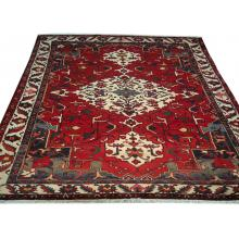 224 x 307 Bakhtiari Handmade Persian-antique Rug