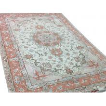 203 x 297 Royal Persian Wool Silk Hand Made Rug