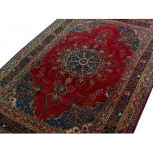 183 x 282 Strikingly Beautiful Mashhad  Persian Rug