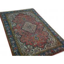 196 x 295  Unique Hamedan Handmade Persian Rug