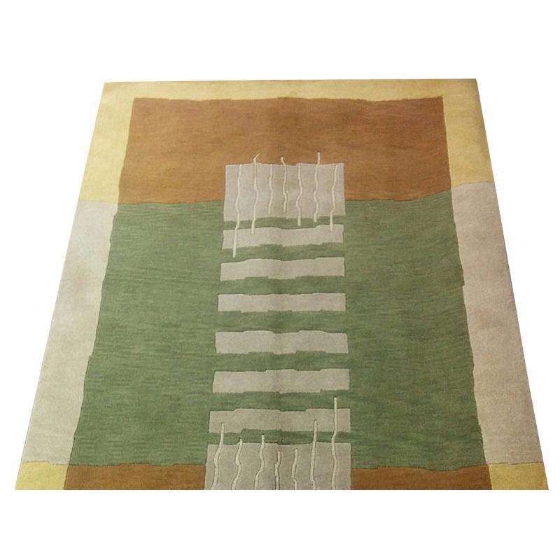 I152 X 244 Indo Nepal Pyramid Oriental Modern Handmade Rug