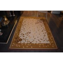 160 X 233 Eye-catching Traditional Modern All Over Flower & Leaf Design Rug