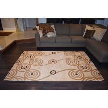 160 X 233 Bold and Beautiful Swirls Design Modern Rug