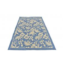 160 X 233 Stylish Looking Flower Design Indoor Outdoor Rug