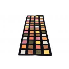 88.39 X 243.84 Beautiful And Basic Tibetan, Square Design Modern Runner Rug